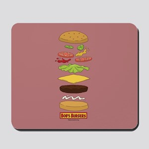 Bob's Burgers Stacked Burger Mousepad