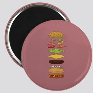 Bob's Burgers Stacked Burger Magnet