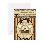 Winged Angels Greeting Cards (Pk of 20)
