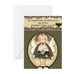 Thoughtful Angels Greeting Cards (Pk of 20)