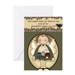 Thoughtful Angels Greeting Card