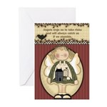 If We Stumble Angels Greeting Cards (Pk of 10)