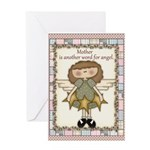 Mother Angels Greeting Card