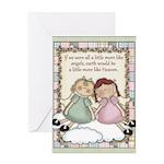 Earth Angels Greeting Card