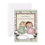 Friendship Angel Greeting Card