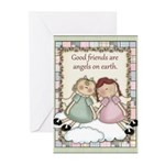 Good Friends Angels Greeting Cards (Pk of 10)