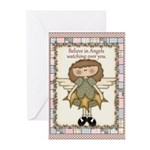 Angels Watching Greeting Cards (Pk of 10)