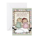 Earth Angels Greeting Cards (Pk of 10)