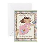 Caring Angel Greeting Card