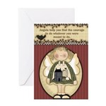 Courage Angel Greeting Card
