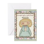Think of Angels Greeting Cards (Pk of 10)