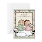 Believe Angel Greeting Cards (Pk of 10)