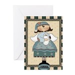 Happy Holidays Angel Greeting Cards (Pk of 10)