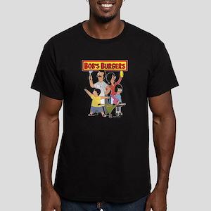Bob's Burger Hero Fami Men's Fitted T-Shirt (dark)