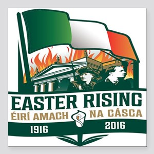 Easter rising gifts cafepress easter rising gaelic square car magnet 3 negle Images