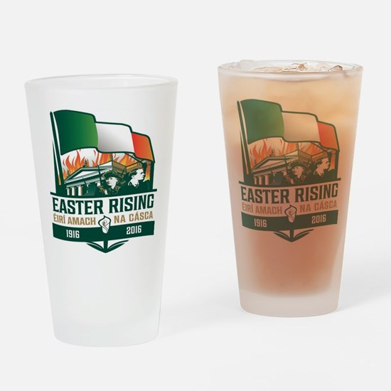 Easter Rising (Gaelic) Drinking Glass
