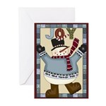 Joy Snowman Greeting Cards (Pk of 10)
