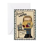 Snowy Wishes Greeting Cards (Pk of 20)