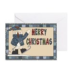 Snowman Christmas Greeting Cards (pk Of 10)