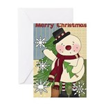 Jolly Happy Soul Greeting Card