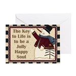 Jolly Happy Soul Card Greeting Cards