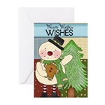 Tree Snowman Greeting Cards (Pk of 10)
