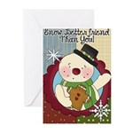 Snow Better Friend Greeting Cards (Pk of 10)