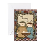 Faith Family Friends Greeting Cards (Pk of 10)