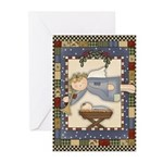 Angel Nativity Greeting Cards (Pk of 10)