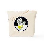 Twisted Billiard Halloween 9 Ball Tote Bag
