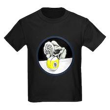 Twisted Billiard Halloween 9 Bal Kids Dark T-Shirt