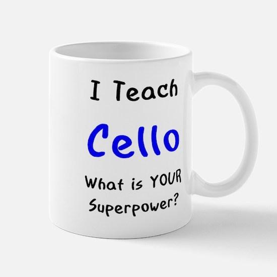 teach cello Mug