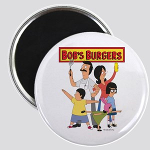 Bob's Burger Hero Family Magnet