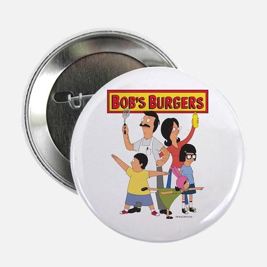 """Bob's Burger Hero Family 2.25"""" Button"""