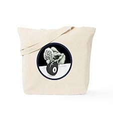 Twisted Billiard Halloween 8 Ball Tote Bag