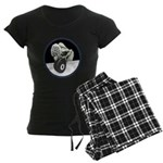 Twisted Billiard Halloween 8 Women's Dark Pajamas