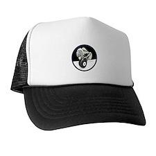 Twisted Billiard Halloween 8 Ball Trucker Hat