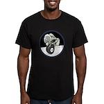 Twisted Billiard Hallo Men's Fitted T-Shirt (dark)