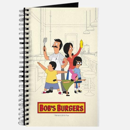 Bob's Burger Hero Family Journal
