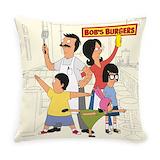 Bobsburgerstv Burlap Pillows