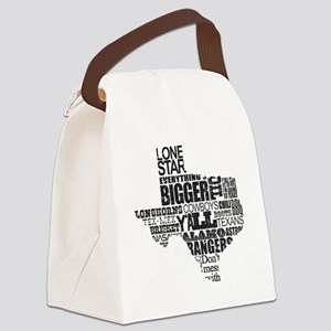 Texas Proud Canvas Lunch Bag
