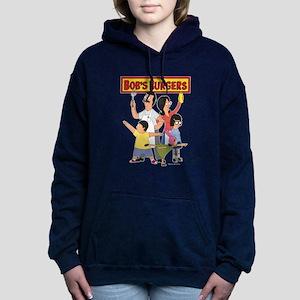 Bob's Burger Hero Family Women's Hooded Sweatshirt