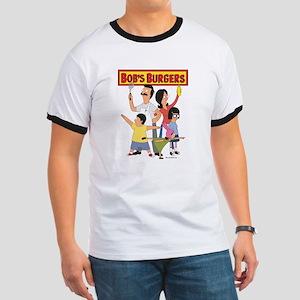 Bob's Burger Hero Family Ringer T