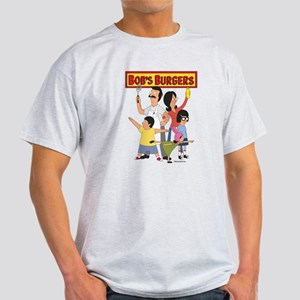 Bob's Burger Hero Family Light T-Shirt