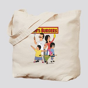 Bob's Burger Hero Family Tote Bag