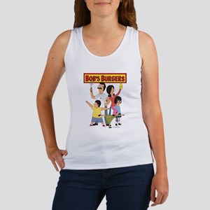Bob's Burger Hero Family Women's Tank Top