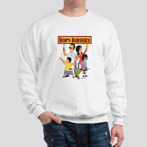Bob's Burger Hero Family Sweatshirt