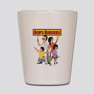 Bob's Burger Hero Family Shot Glass