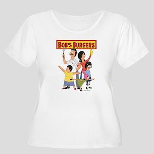 Bob's Burger Women's Plus Size Scoop Neck T-Shirt