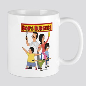 Bob's Burger Hero Family Mug